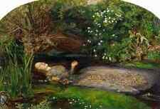 A4 Photo Millais John E 1829 1896 Ophelia History of Painting 1900 Print Poster