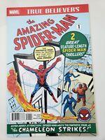 TRUE BELIEVERS: THE AMAZING SPIDER-MAN #1 (2017) MARVEL STAN LEE! STEVE DITKO!