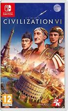 CIVILIZATION VI 6 NINTENDO SWITCH VIDEOGIOCO ITALIANO GIOCO NUOVO ITA SIGILLATO
