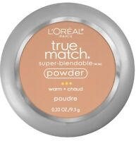 Loreal Paris True Match Super Blendable Powder Compact Makeup W6 Sun Beige
