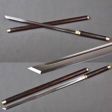 Umbrella Handle Japanese katana Ninja sword 1060 carbon steel groove blade Sharp