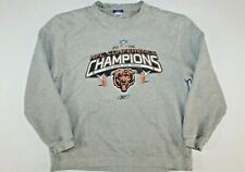 Vintage Chicago Bears 2006 Champions Reebok Crewneck Sweatshirt Sweater Large