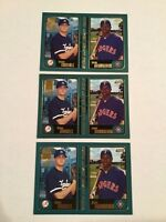 2001 Topps #361 DANNY BORRELL - JASON BOURGEOUIS Rookie RC Lot 3 Yankees LOOK