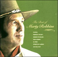 MARTY ROBBINS *  20 Greatest Hits * New CD * All Original Songs * EL PASO
