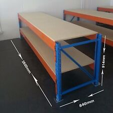 NEW WORK BENCH 2600mm X 914mm X 840mm WITH PARTICLE BOARD