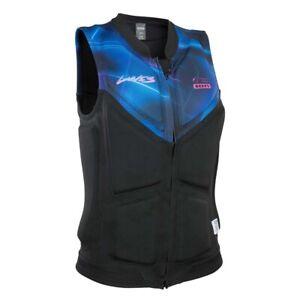 ION Wakeboard Prallschutzweste Lunis Vest Women FZ black capsule 2020
