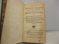 BUFFIER Claude, DE BRESME Mallet, Suite de la grammaire francoise