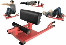 Sissy Squat X-Factor Push Up Abs Dip Workout Fitness Gym 3-in-1 Sit Up Machine