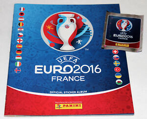 Panini UEFA Em Euro France 2016 Sticker – Empty Album Germany +Bonus