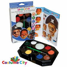 Snazaroo Face Paint Party Make Up Boy's Face Painting Kit
