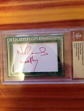 2013 Press Pass Platinum Cuts NORMAN REEDUS Autograph # 5/5 RARE!!!