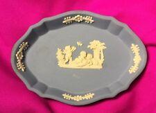 Blue Wedgwood Jasperware jewellery dish Regency Vintage Valentines Gift Home Dec