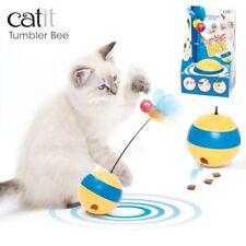 Catit Play Tumbler Bee Cat Kitten Toy Food Dispenser