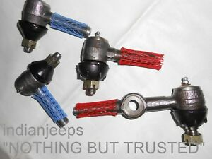 NEW TIE ROD END KIT JEEP MAHINDRA CJ3 CJ5 CJ6 &  WILLYS 1948-71 CJ3B CJ5 CJ6 RHD