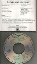 SILENT POETS ADV PROMO CD w/ Virginia Astley THE SPECIALS Ursula Rucker OPUS III