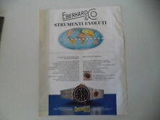 advertising Pubblicità 1983 EBERHARD FLYMASTER