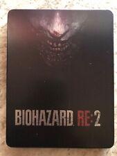 Biohazard RE:2 Steelbook Case PS4 (No Game) Used