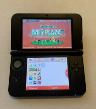 Nintendo 3DS XL Portable Gaming Console - Red and Black. Great Condition