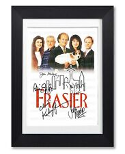 FRASIER CAST SIGNED POSTER TV SHOW SERIES SEASON PRINT PHOTO AUTOGRAPH GIFT