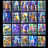 Lot 200 Cartes Pokemon 195 GX Toutes 5 MEGA Holo Flash Art Trading Cards Cadeau