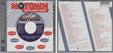 MOTOWN CLASSIC YEARS 40 All Time Hits 2000 Various Artists 2 CD Set 60s & 70s