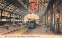 DIJON - Le Hall de la gare
