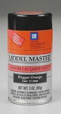 Testors Model Master  GM Huggar Orange Spray Paint Can  3 oz.  28108