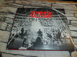 CD JOHNNY HALLYDAY ON STAGE / DIGIPACK 3 CD 33 TITRES RARE