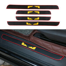 Universal Threshold Protection Strip Scratch Car Door Sticker Bumper For FENDI