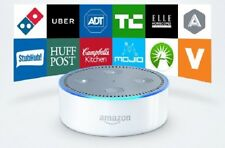 Amazon Echo Dot Multimedia Bluetooth Wireless Smart Speaker With Alexa White