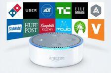 Amazon Echo Dot Multimedia Bluetooth Wireless Smart Speaker With Alexa White NEW