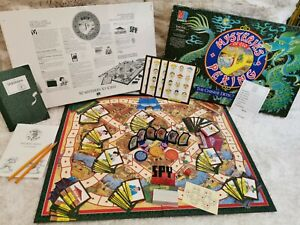 Vintage Mysteries Of Old Peking Board Game 100% Complete VGC MB Games 1987 Super