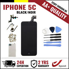 AA+ LCD TOUCH SCREEN SCHERM ÉCRAN FULL ASSEMBLY BLACK NOIR + TOOLS FOR IPHONE 5C