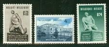 Belgium #B495-7 Complete set, og, Lh, Vf, Scott $68.00
