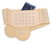 MAGNETIC DELUXE BACK BELT SMALL (24) 1000 Gauss Surface Strength Ceramic Mags.