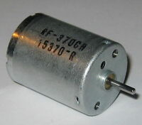 RF-370 Air Pump Motor - 3 to 12 VDC - 5600 RPM - 12 V - RF-370CH-15370
