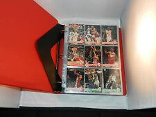 """1995-1996 SKYBOX HOOPS COMPLETE SET OF 400 IN BINDER """"MINT"""" UNOPENED SERIES 1&2"""