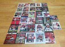 TRENT GREEN LOT OF 32 FOOTBALL CARDS KANSAS CITY CHIEFS QUARTERBACK INDIANA