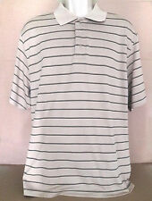 Champion Golf Mens Polo Shirt XL Beige  Short Sleeve Made in Egypt