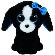TRACEY THE BLACK DOG TY BEANIE BOOS  BRAND NEW 23CM  MEDIUM  SIZE