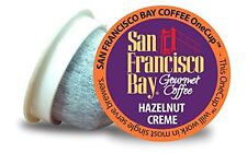 72 ct. Hazelnut Creme San Francisco Bay Coffee OneCup  For Keurig K-cup brewer