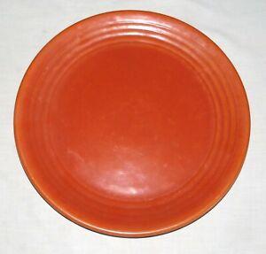 "Ring Ware Vintage 12.5/8"" Orange Chop Plate Round Platter"