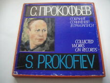 S. PROKOFIEV: Collected works - Concertos for Piano, Violin and Cello BOX 5LPs