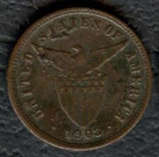1903 US Administration Philippines HALF CENTAVOS Silver Coin Stock #1