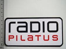 Aufkleber Sticker Radio Pilatus (7618)