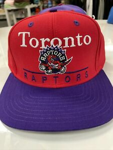 NBA Toronto Raptors Adidas Vintage Snapback Adjustable Hat cap