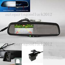 "Auto dimming rearview mirror+4.3""reversing display+camera,interior car mirror"