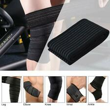 Elastic Knee Compression Bandage Wraps Support For Leg Thighs Ankle Elbow Joints