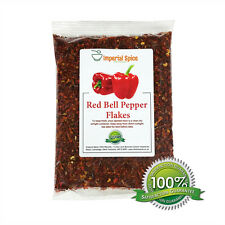 Sweet Dried Red Bell Pepper Flakes. Quality - 100g