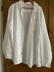 Tommy Bahama Relax White Linen Shirt